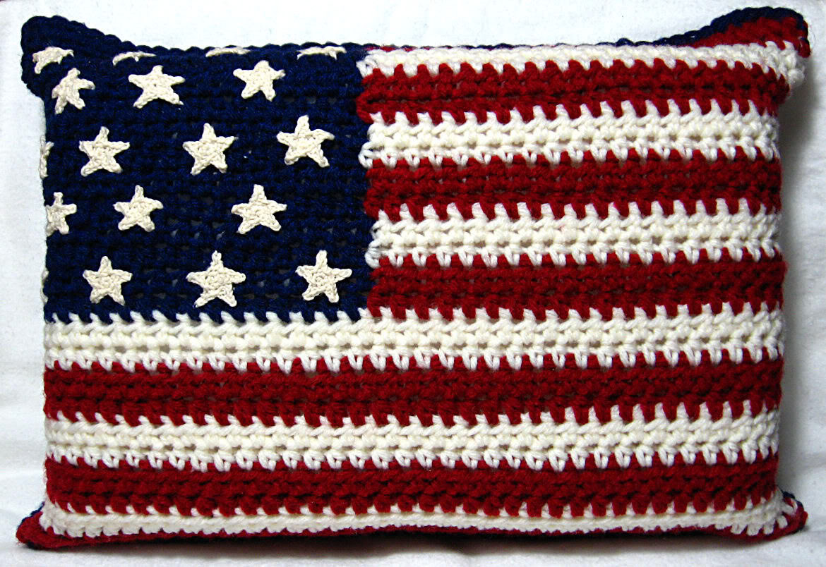 Luxury Crocheting Conversations Red White & Blue American Flag Crochet Pattern Of Attractive 40 Pics American Flag Crochet Pattern