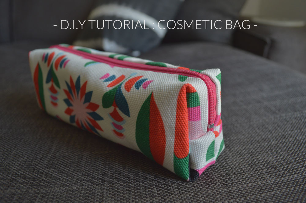 Luxury D I Y Tutorial Make Your Own Cosmetic Bag Hannah In Makeup Bag Pattern Of Wonderful 47 Photos Makeup Bag Pattern