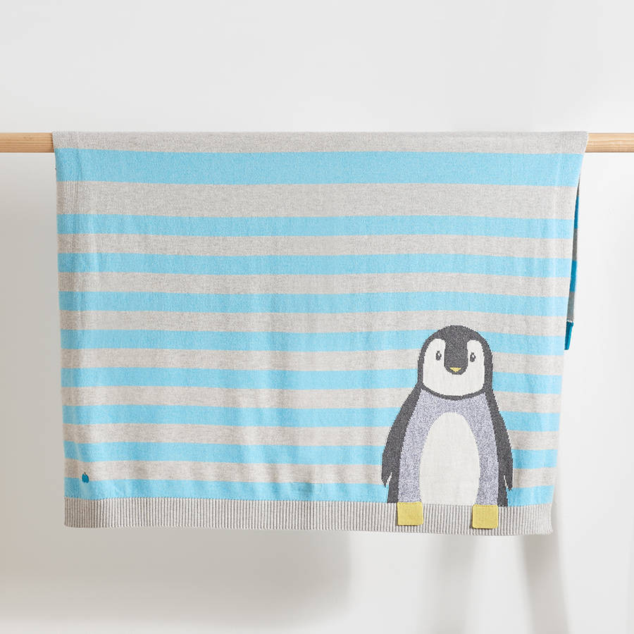 Luxury Dancer Striped Penguin Baby Blanket by the Bonnie Mob Penguin Baby Blanket Of Amazing 48 Ideas Penguin Baby Blanket
