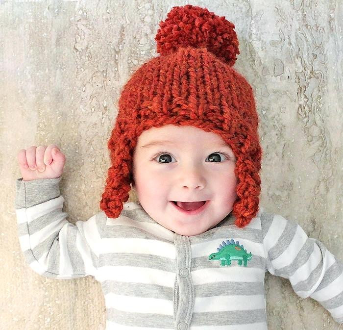 Luxury Denmark Newborn Baby Boy Knit Hat Patterns Red 76cac F6fed Knitted Baby Beanies Of Charming 44 Models Knitted Baby Beanies