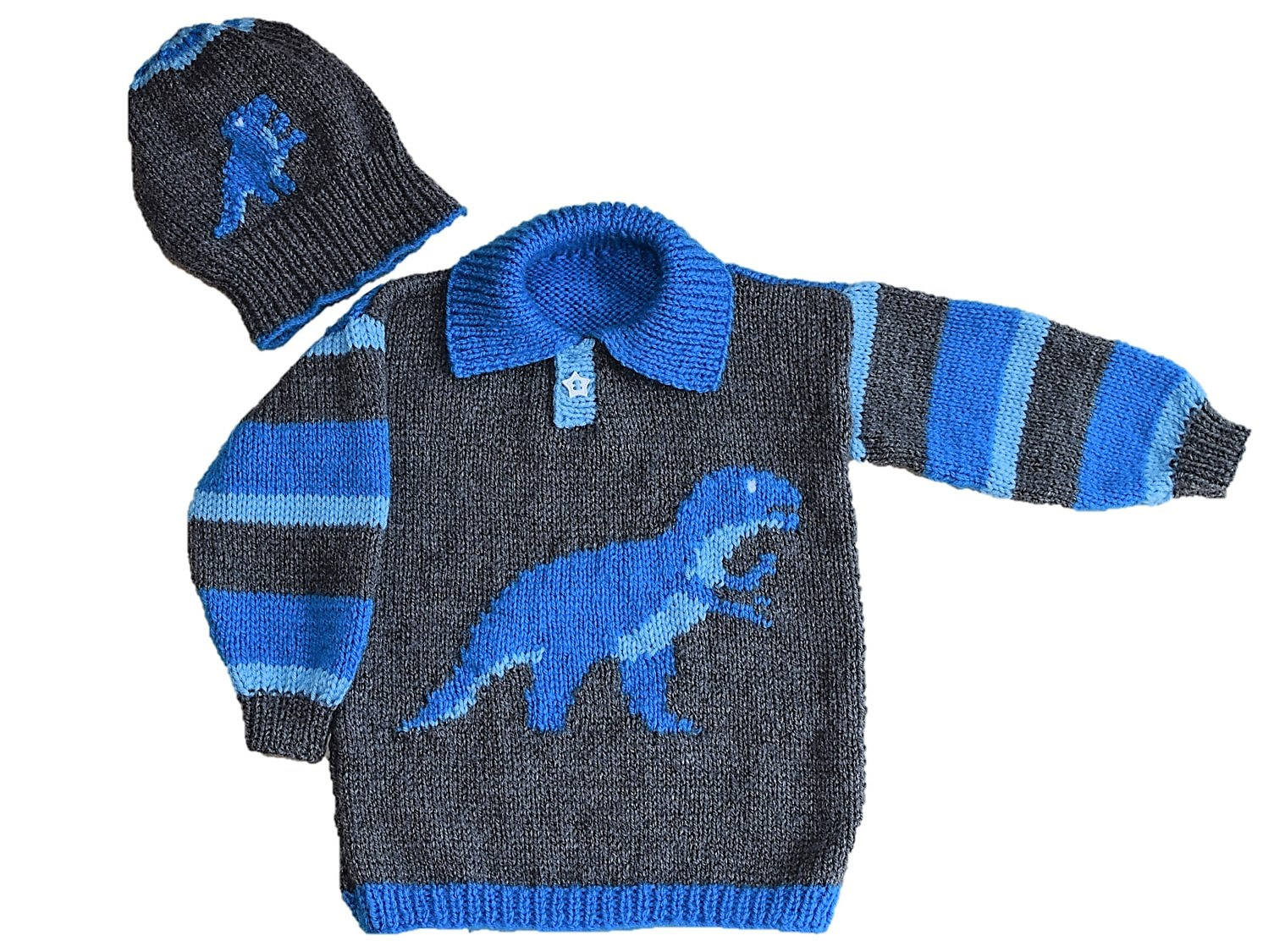 Luxury Dinosaur Child S Sweater and Hat Tyrannosaurus Knitting Patterns for Childrens Sweaters Of Charming 47 Models Knitting Patterns for Childrens Sweaters