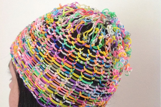 Luxury Diy Loom Band Crafts Hot Fashion Trend In 2014 Making A Hat On A Loom Of Attractive 43 Pics Making A Hat On A Loom