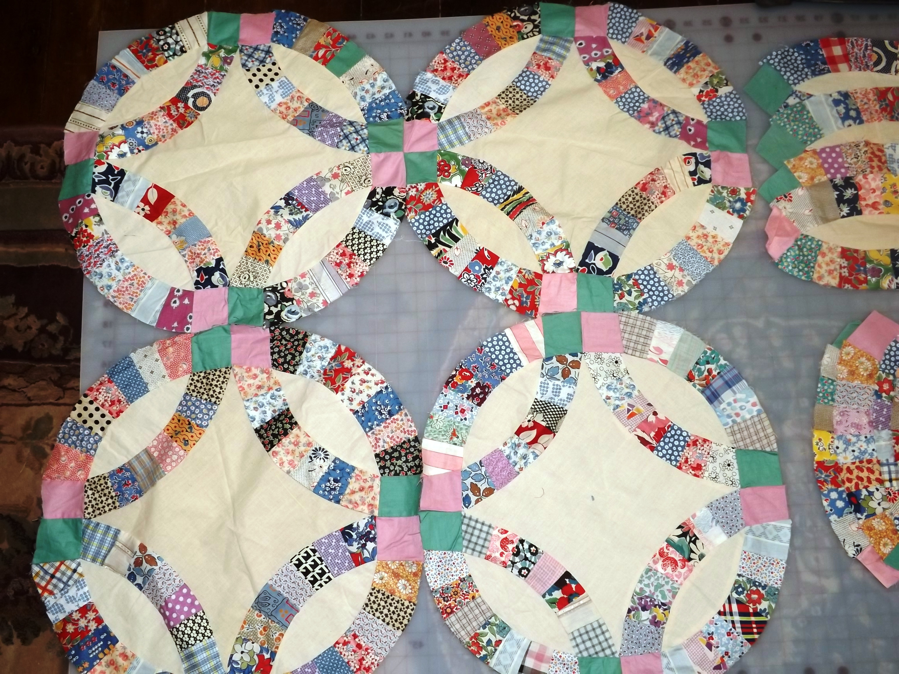 Luxury Double Wedding Ring Wedding Ring Quilt Pattern Of Innovative 47 Pics Wedding Ring Quilt Pattern
