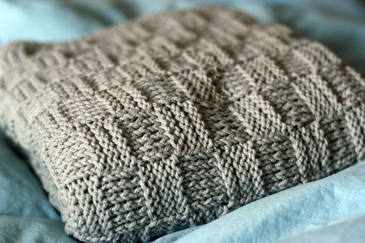 easy knit baby blanket Craft Ideas