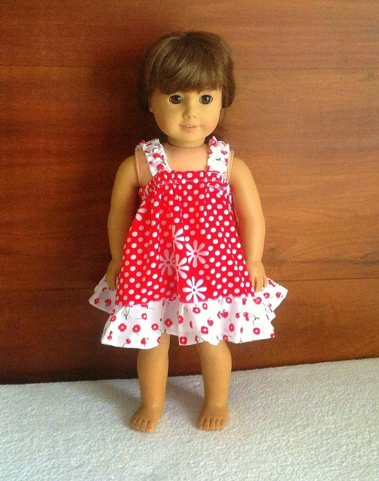 Luxury Easy Sundress Sewing Pattern for American Dolls Sewing American Doll Clothes Patterns Of Superb 48 Ideas American Doll Clothes Patterns