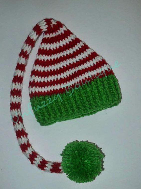 Luxury Elf Hat Elves and Hats On Pinterest Free Crochet Santa Hat Pattern Of Amazing 40 Models Free Crochet Santa Hat Pattern