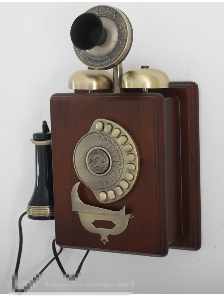 Luxury European Retro Wall Phone 1909 Wall Mounted Antique Old Wall Telephone Of Marvelous 42 Models Old Wall Telephone