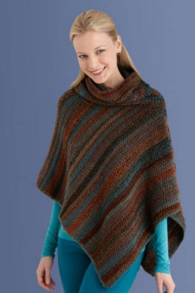 Luxury Fall Crochet Fashion Trends Of 2015 Ponchos Capelet and Crochet Cowl Neck Poncho Of Beautiful 44 Pics Crochet Cowl Neck Poncho