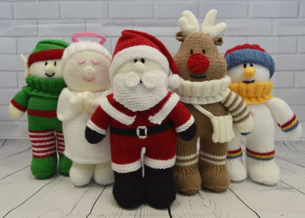 Luxury Festive Friends Collection Of 5 Knitting Patterns Free Knitting Patterns toys Of Delightful 41 Pictures Free Knitting Patterns toys