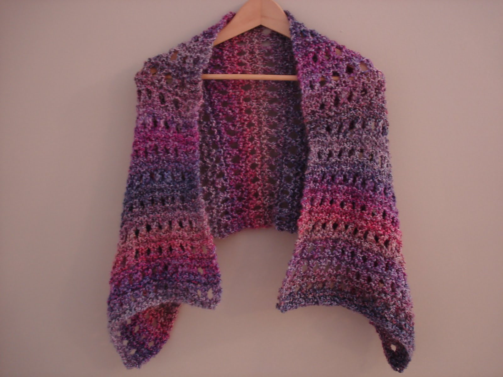 Fiber Flux Free Knitting Pattern A Peaceful Shawl