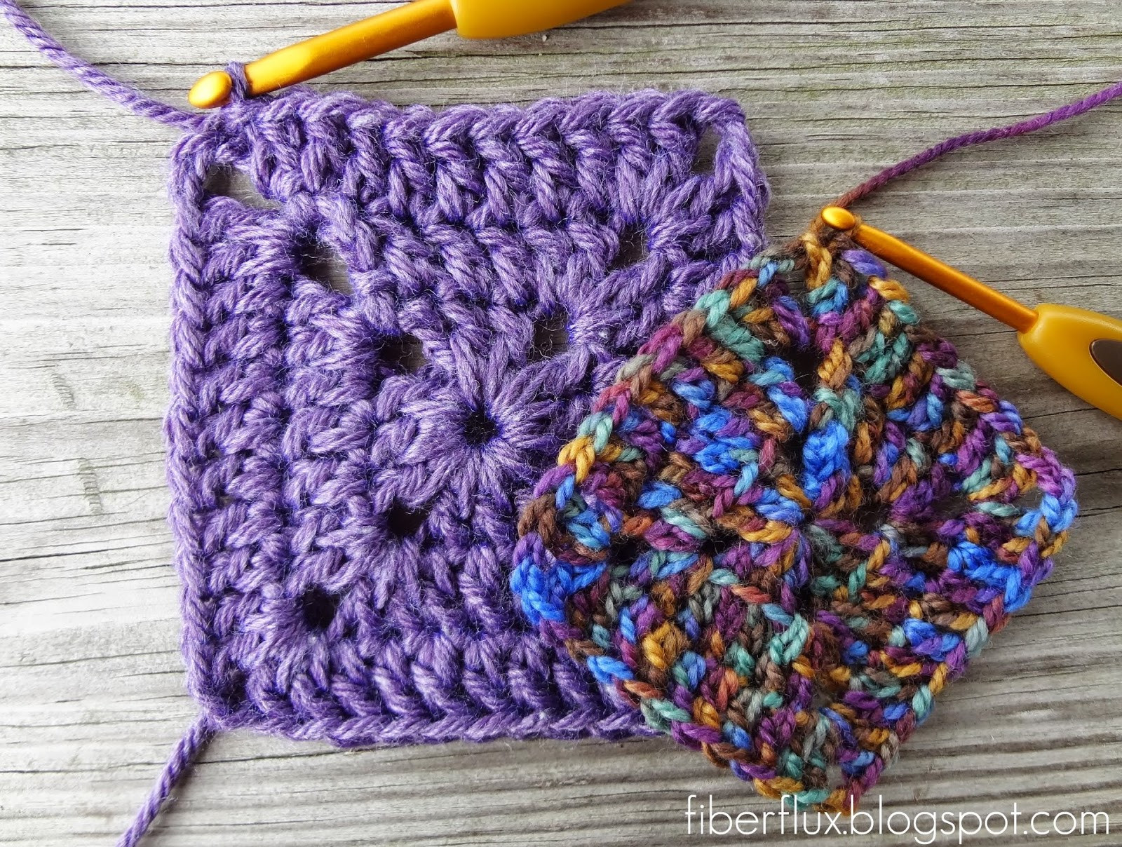 Luxury Fiber Flux How to Crochet A solid Granny Square Square Crochet Stitch Of Lovely 49 Photos Square Crochet Stitch