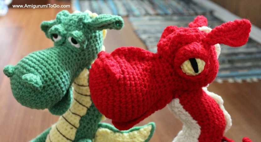 Luxury Fierce or Sleepy Dragon Pattern Part E Amigurumi to Go Crochet Dragon Pattern Of Brilliant 50 Pictures Crochet Dragon Pattern