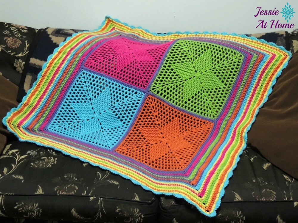 Luxury Four Points Star Blanket An Adorable Blanket for Your Crochet Star Afghan Pattern Of New 45 Photos Crochet Star Afghan Pattern