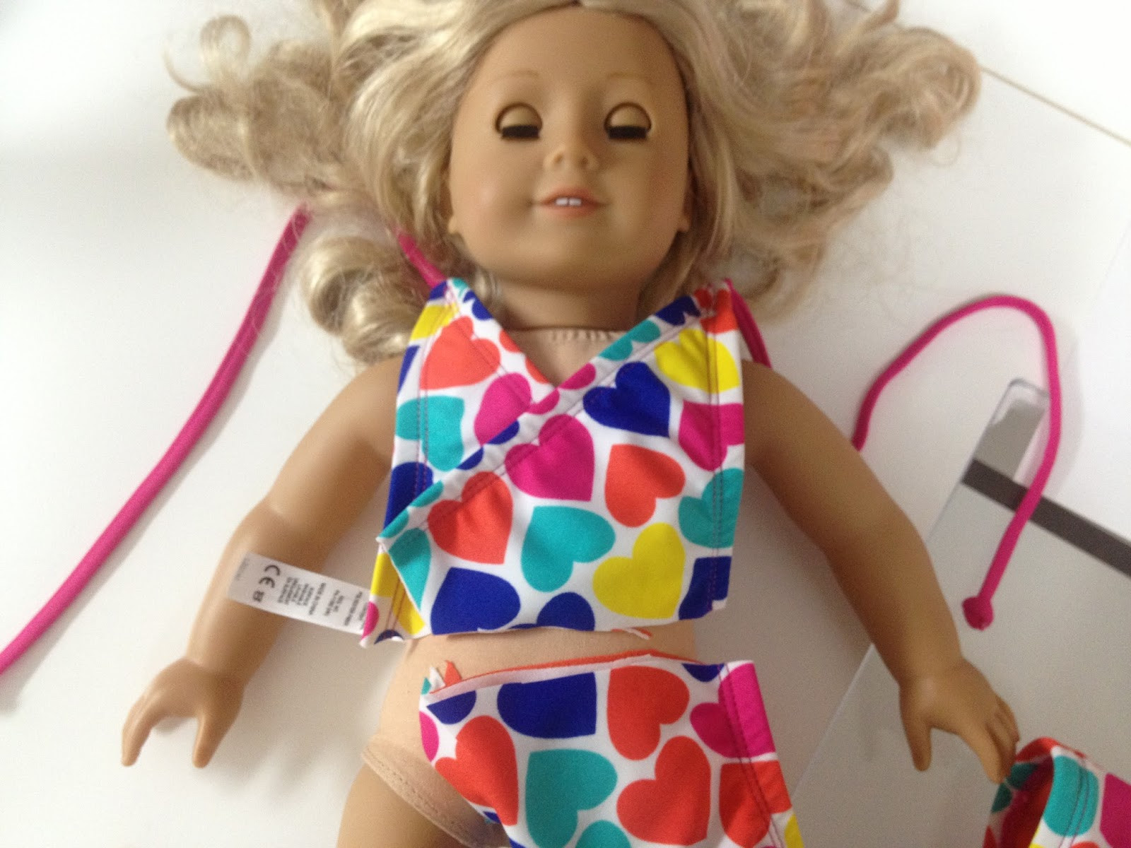 "Luxury Free American Girl or 18"" Doll Swimsuit Pattern American Girl Patterns Of Unique 42 Models American Girl Patterns"