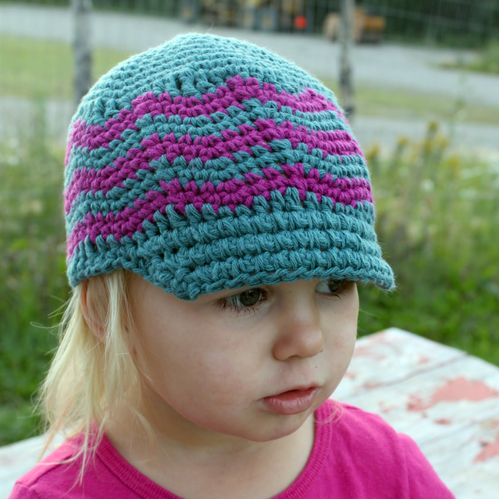 free crochet felt brim hat patterns