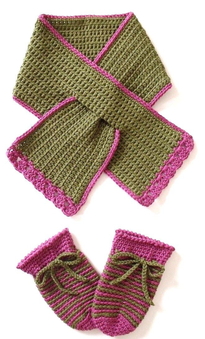Luxury Free Crochet Pattern Easy Hat and Keyhole Scarf From the Crochet Hat and Scarf Patterns Free Of Amazing 47 Pics Crochet Hat and Scarf Patterns Free