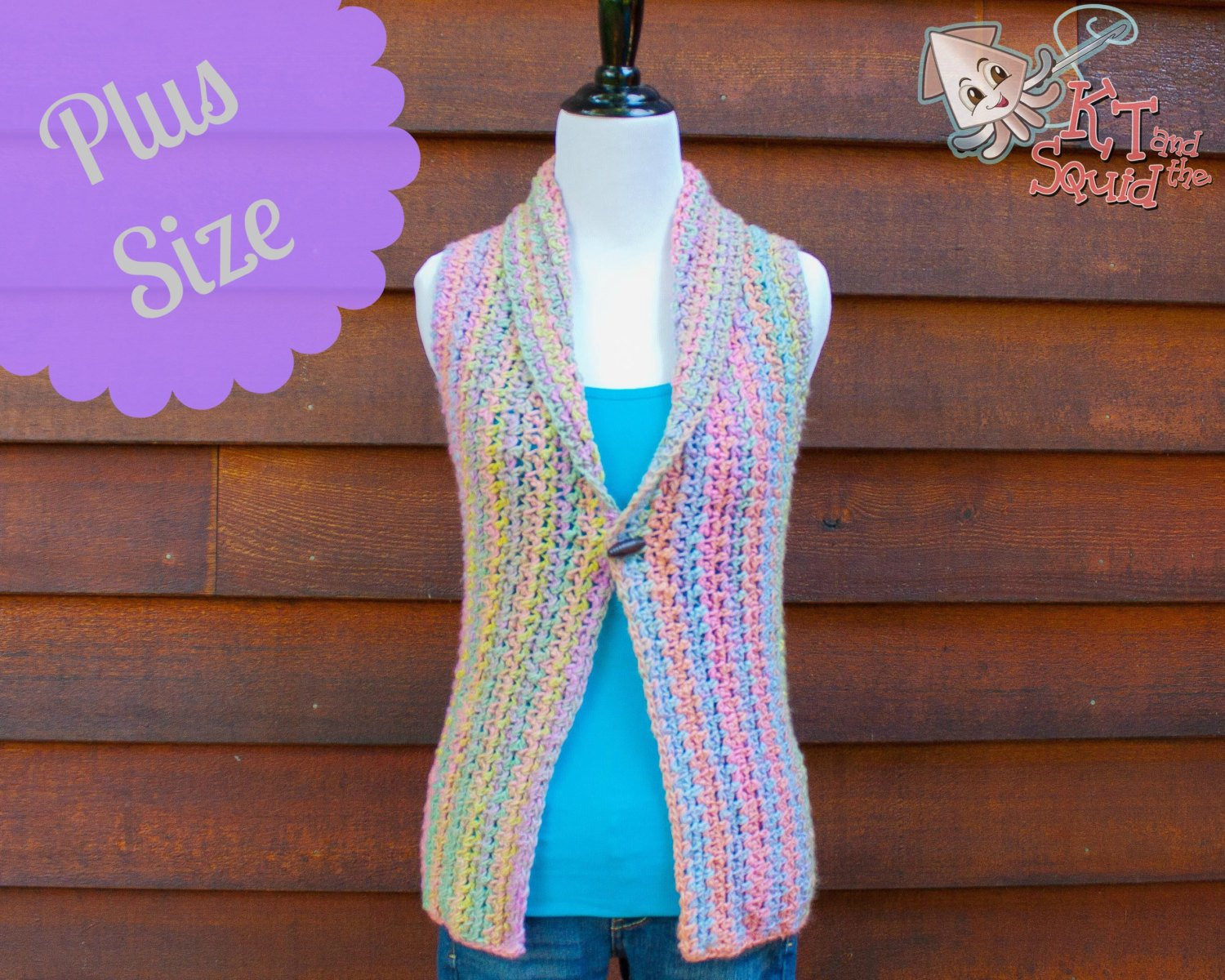 Luxury Free Crochet Pattern Plus Size Vest Dancox for Free Crochet Womens Vest Patterns Of Great 41 Pics Free Crochet Womens Vest Patterns