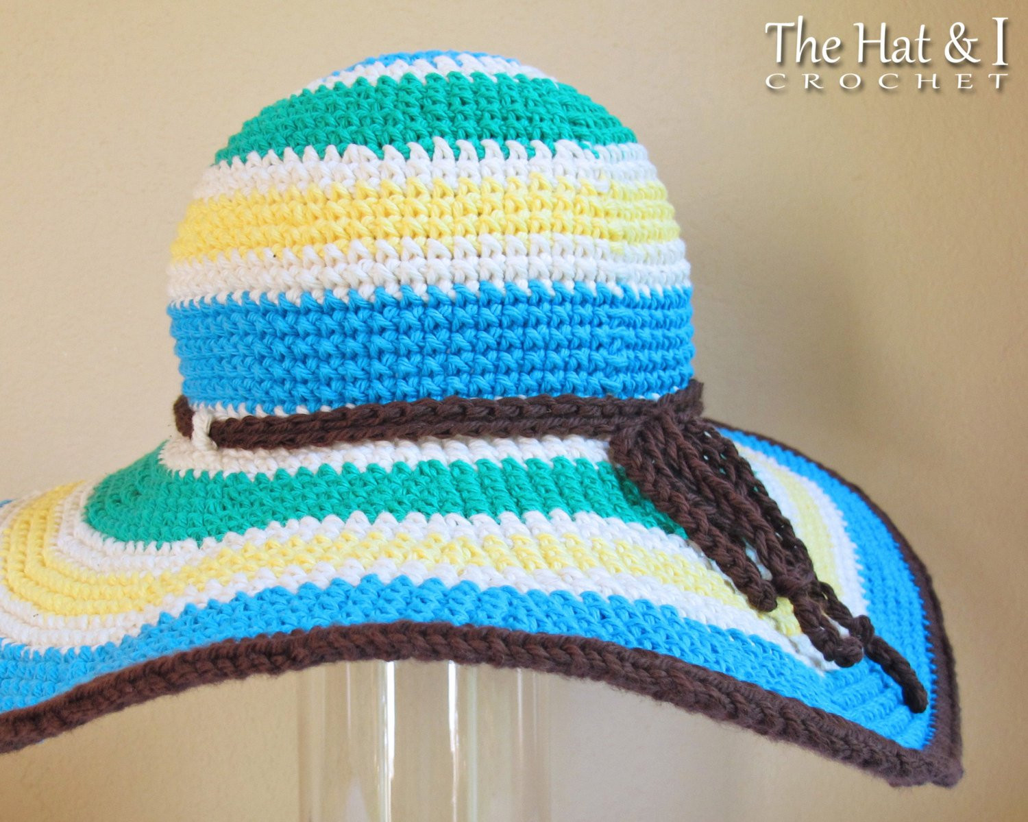 Luxury Free Crochet Pattern Summer Floppy Hat Manet for Crochet Hat with Brim Free Patterns Of Incredible 49 Ideas Crochet Hat with Brim Free Patterns
