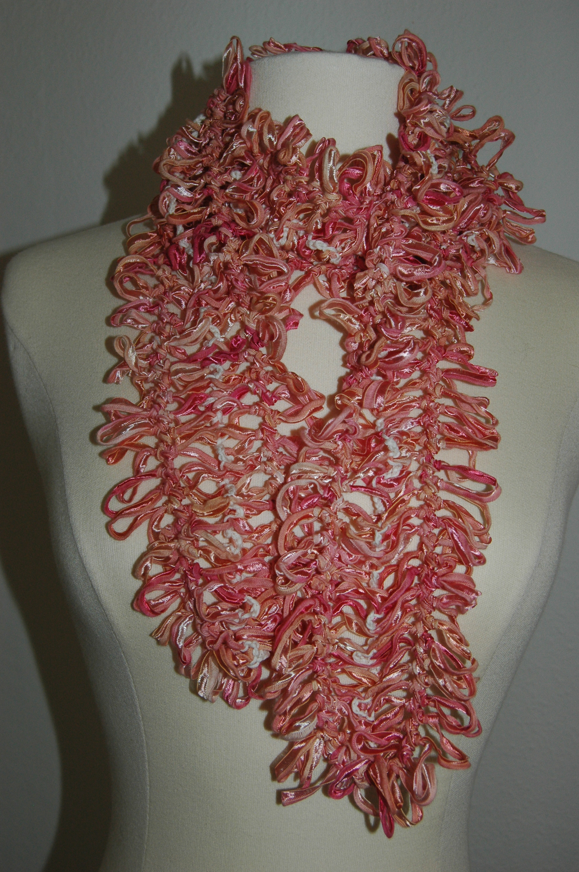 Free Crochet Patterns For Beginners Scarf Lace Shell Beach