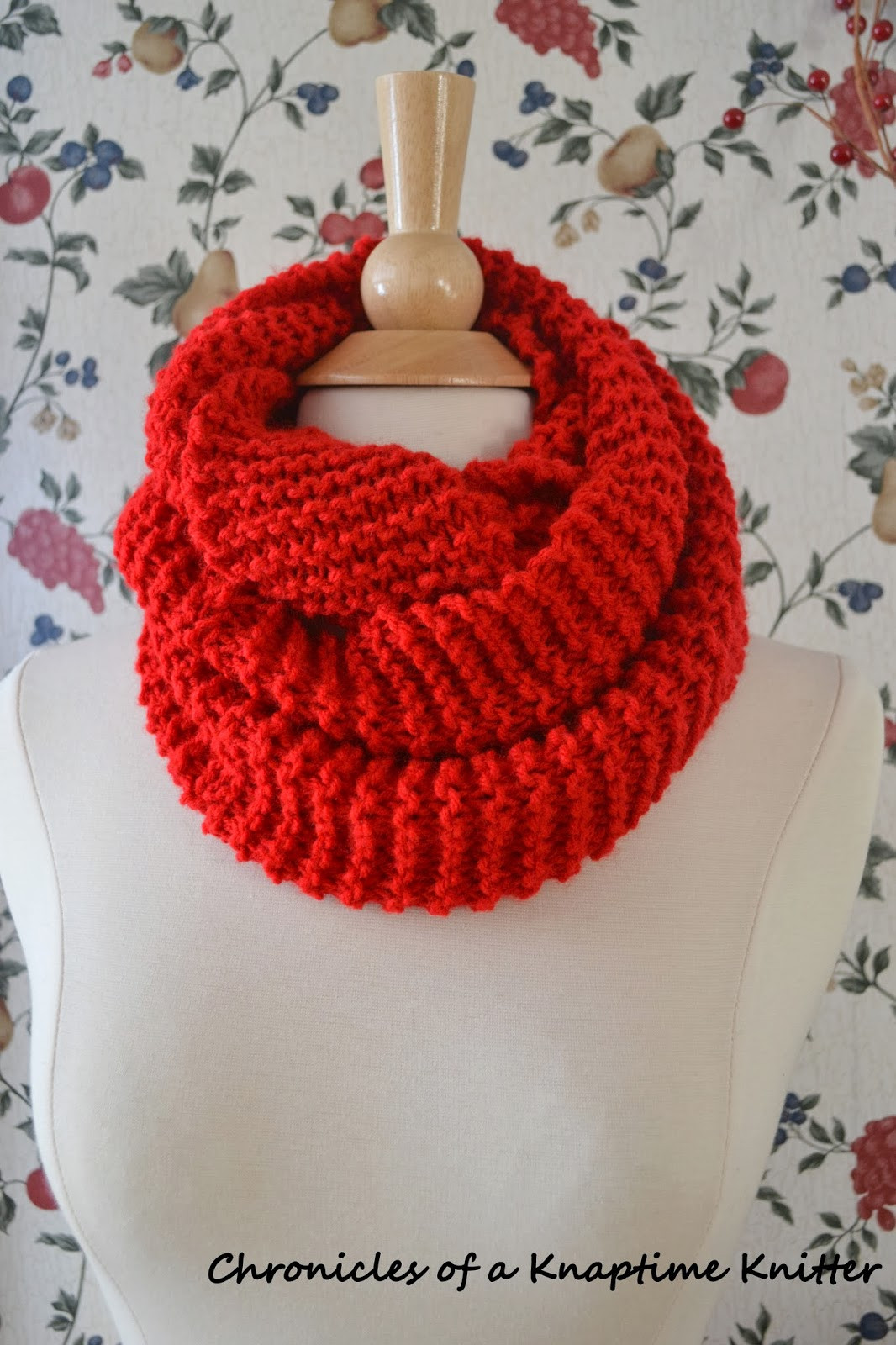 Luxury Free Knitting Pattern Basic Knit Infinity Cowl Free Knitted Cowl Patterns Of Incredible 45 Images Free Knitted Cowl Patterns