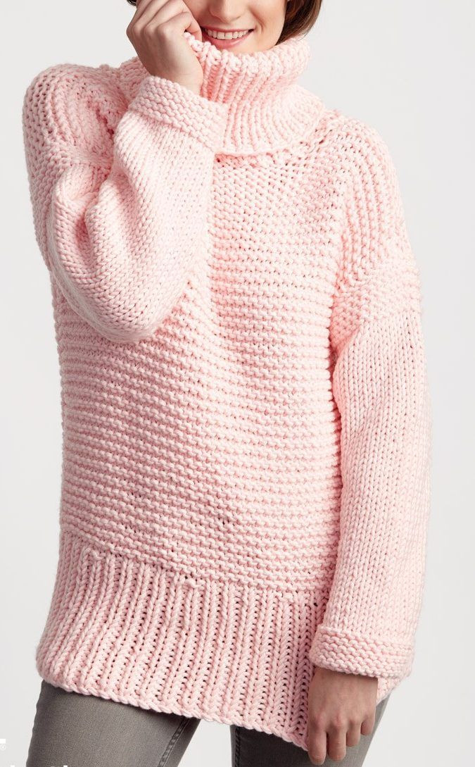 Luxury Free Knitting Pattern for Easy Big Box Pullover Long Easy Knit Sweater Of Brilliant 50 Images Easy Knit Sweater