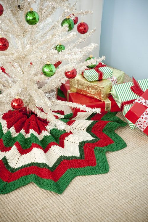 Luxury Free Pattern for Crocheted Tree Skirt Crochet Tree Skirt Of Innovative 45 Ideas Crochet Tree Skirt