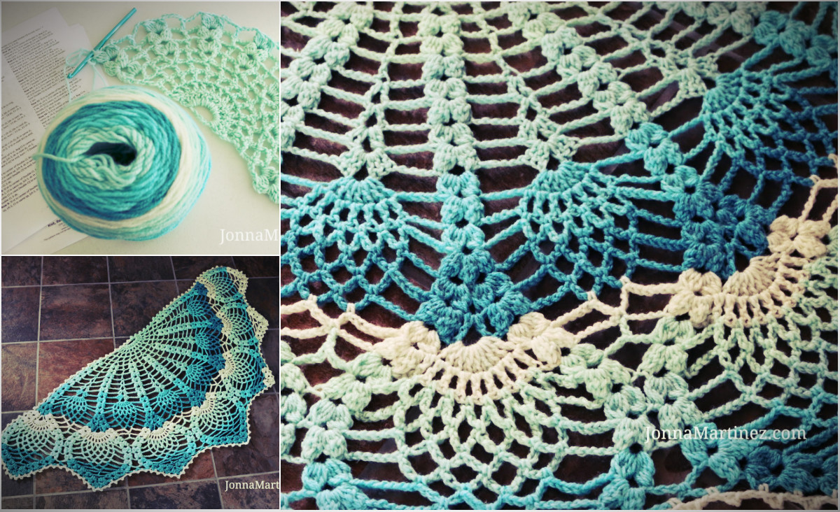 Luxury [free Pattern] Pineapple Peacock Crocheted Shawl Video Peacock Shawl Of Charming 44 Pictures Peacock Shawl