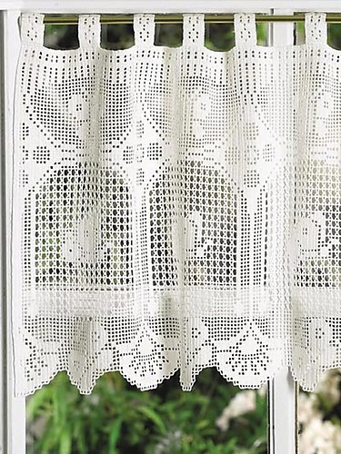 Luxury [free Patterns] 8 Beautiful and Easy to Crochet Curtain Crochet Curtain Patterns Of Contemporary 49 Ideas Crochet Curtain Patterns