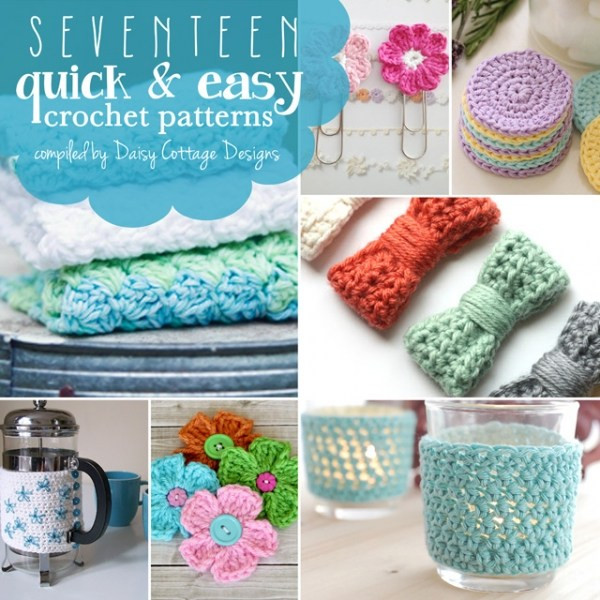 Free Patterns – Quick Crochet Projects – Crochet