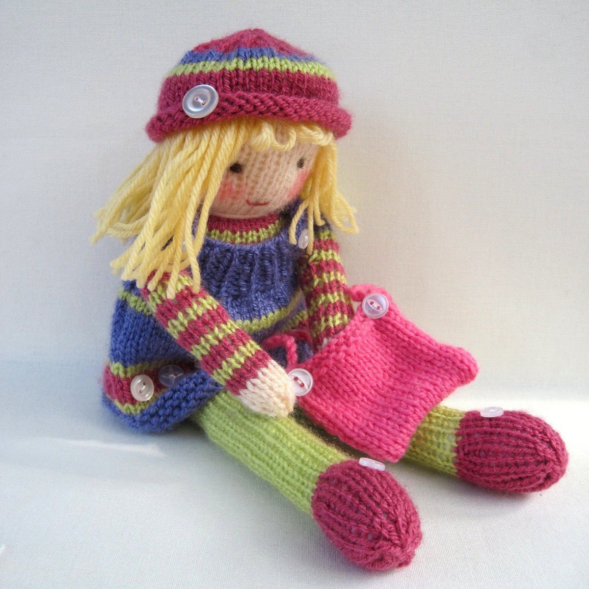 Luxury Fun to Learn Knitting with Knitting Doll Crochet and Knit Knitted Doll Patterns Of Lovely 40 Models Knitted Doll Patterns
