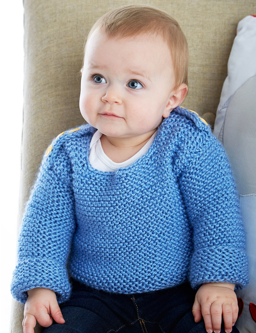 Garter Stitch Little e Knitting Patterns