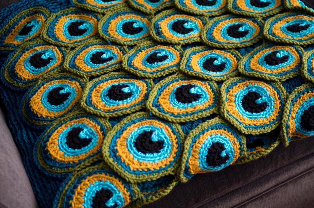 Luxury Get Cozy On the Couch This Fall Fy Crochet Blanket Designs Peacock Crochet Blanket Of Amazing 42 Photos Peacock Crochet Blanket