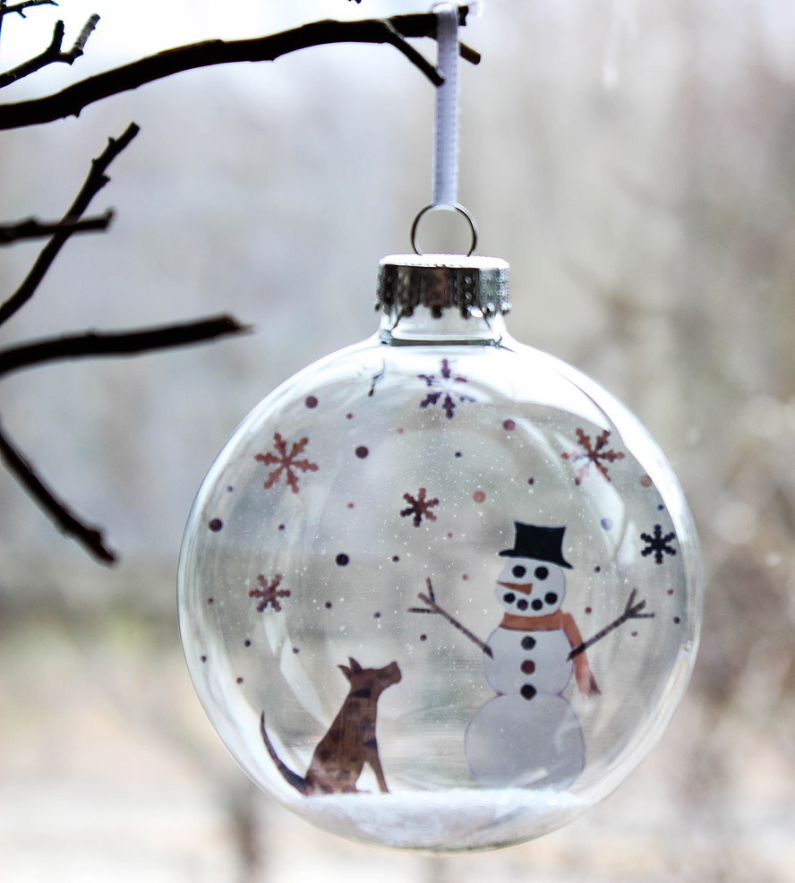 Luxury Glass Pup and Snowman Holiday ornament Snowman Christmas ornaments Of Adorable 45 Models Snowman Christmas ornaments