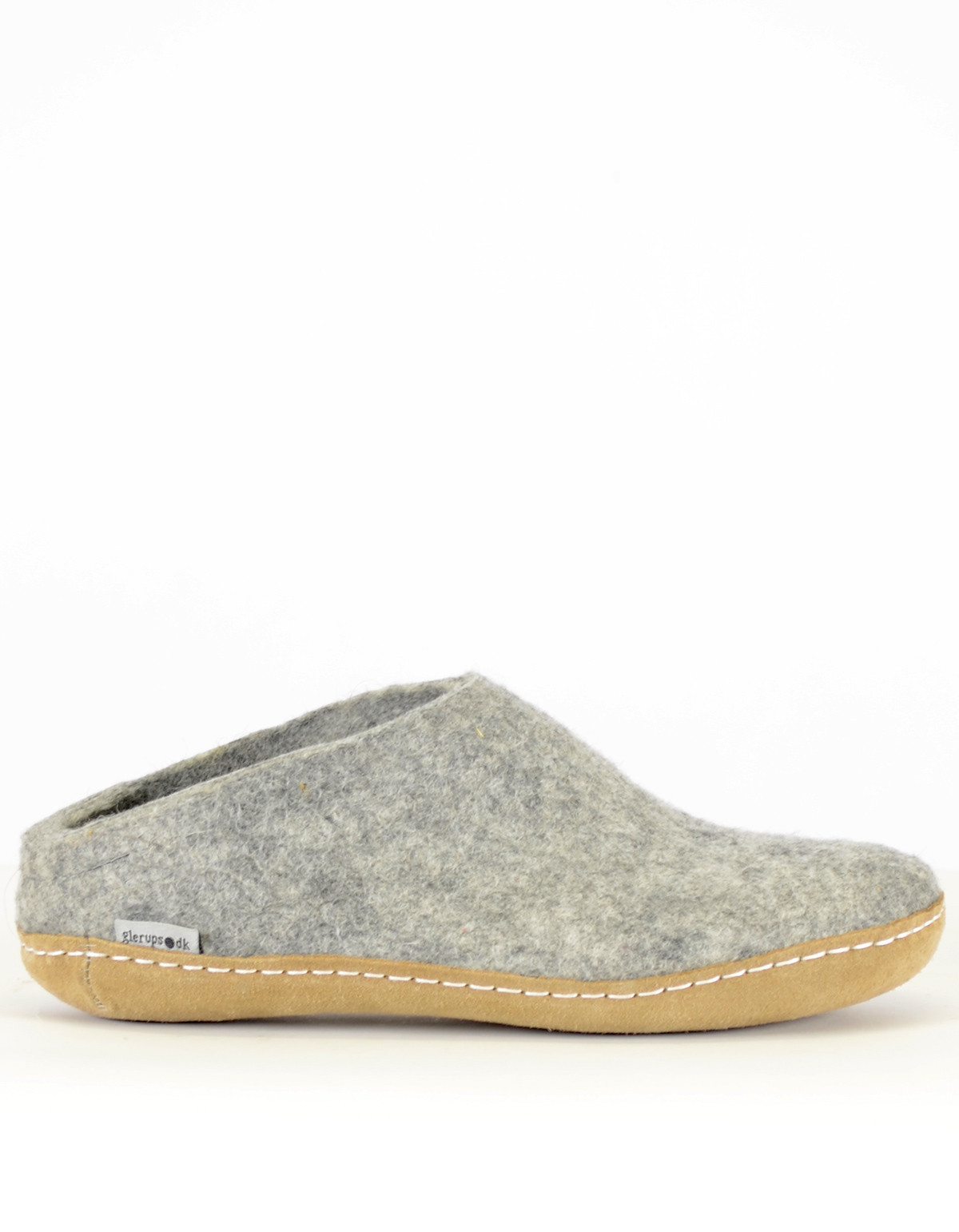 Luxury Glerups Women S Wool Slipper Leather sole Grey Leather sole Slippers Of Fresh 46 Models Leather sole Slippers