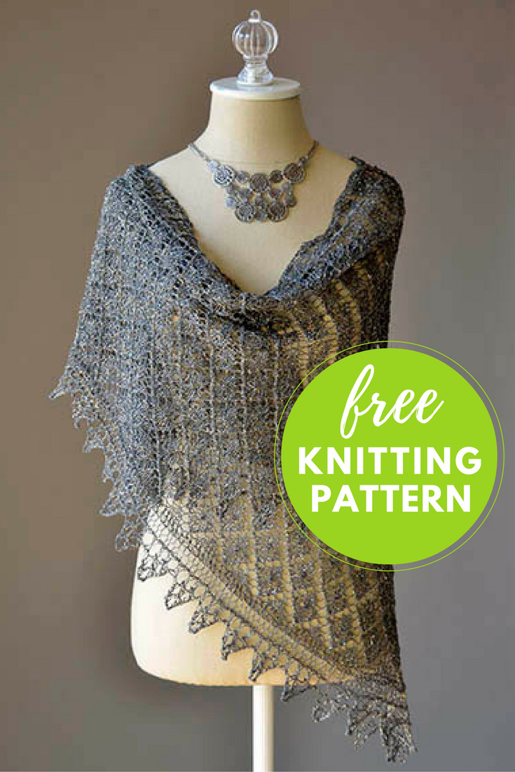 Luxury Going Places Shawl Free Knitting Pattern — Blog Nobleknits Free Lace Shawl Knitting Patterns Of Attractive 40 Photos Free Lace Shawl Knitting Patterns