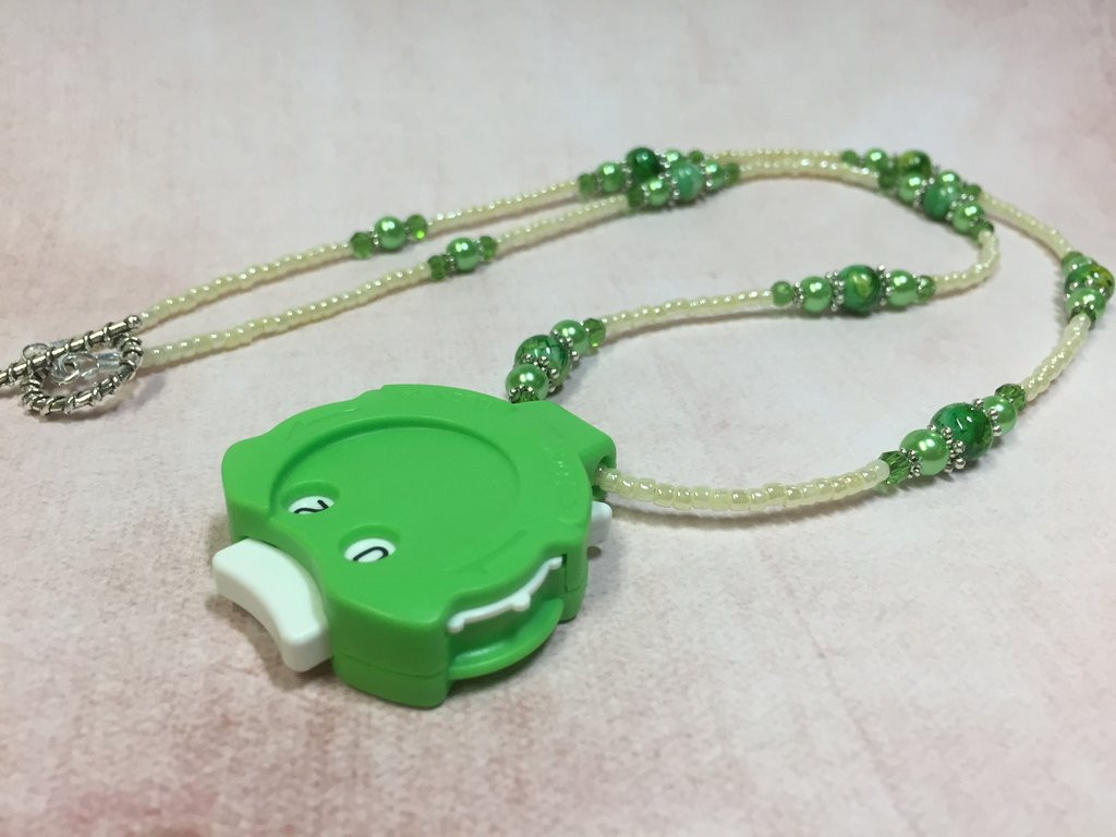Luxury Green Row Counter Necklace for Knitting or Crochet Crochet Row Counter Of New 44 Pics Crochet Row Counter