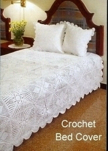 Luxury Hand Crocheted Bed Spread and Pillow Covers Crochet Bedding Of Attractive 40 Ideas Crochet Bedding