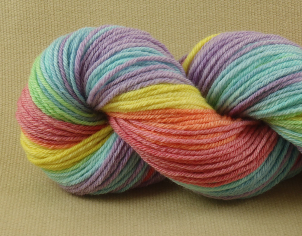 Luxury Hand Dyed Yarn Macaroon Worsted Weight Yarn Merino Yarn Thickness Of Innovative 50 Pictures Yarn Thickness