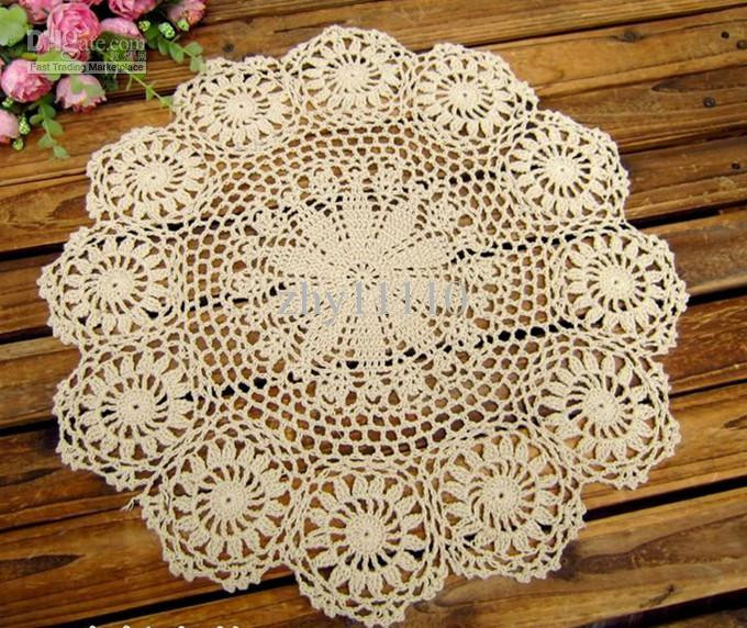 Luxury Hand Made Crochet Table Mat Cotton Ecru Doily Coaster Crochet Table Mat Of Gorgeous 47 Ideas Crochet Table Mat