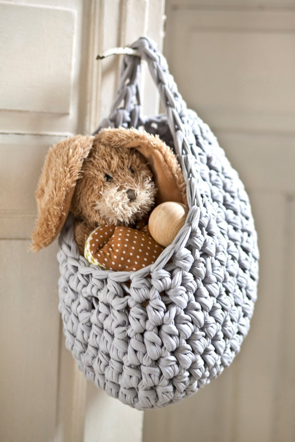 Luxury Hanging Basket Crochet Basket Gray Basket Knitted Basket Crochet Hanging Basket Of Awesome 47 Photos Crochet Hanging Basket