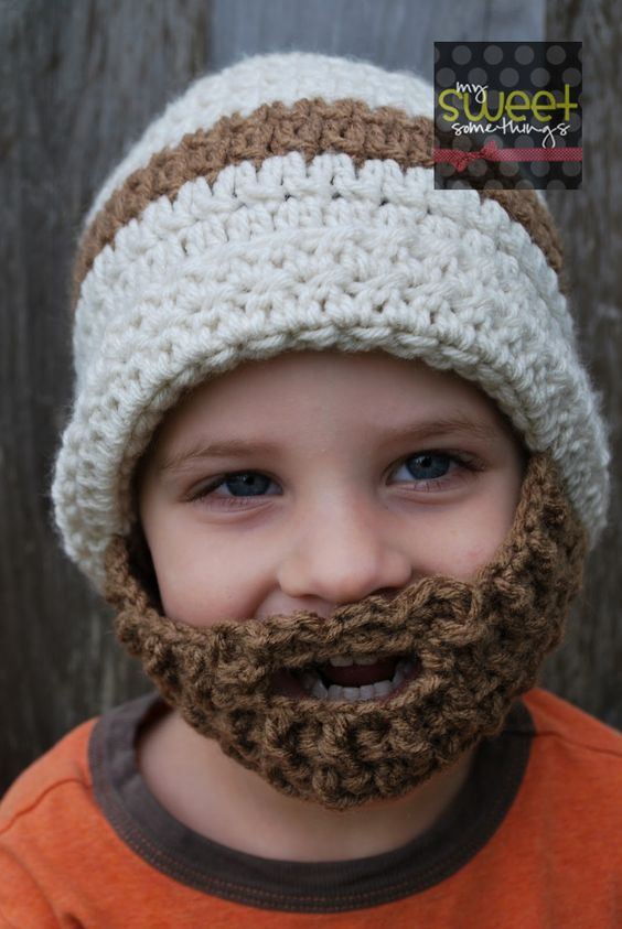 Hats for kids Crochet pattern free and Beanie on Pinterest