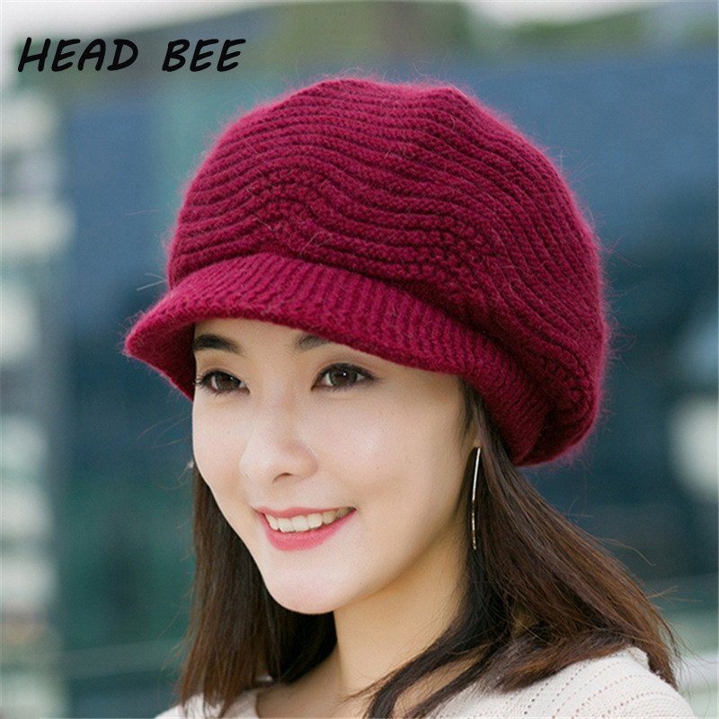 Luxury [head Bee] Brand Beanies Hat Winter Hats for Women Knitted Ladies Knitted Hats Of Adorable 50 Pictures Ladies Knitted Hats