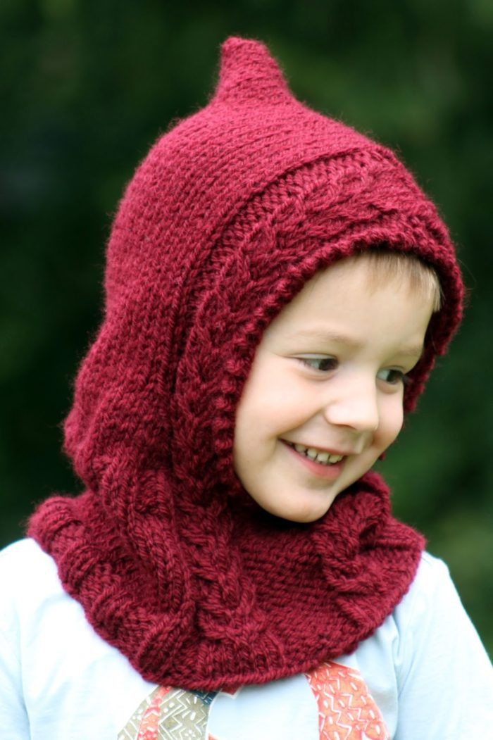 Luxury Hood Knitting Patterns Knitted Cowl Of Brilliant 41 Models Knitted Cowl