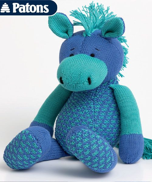 horse and other equine knitting patterns