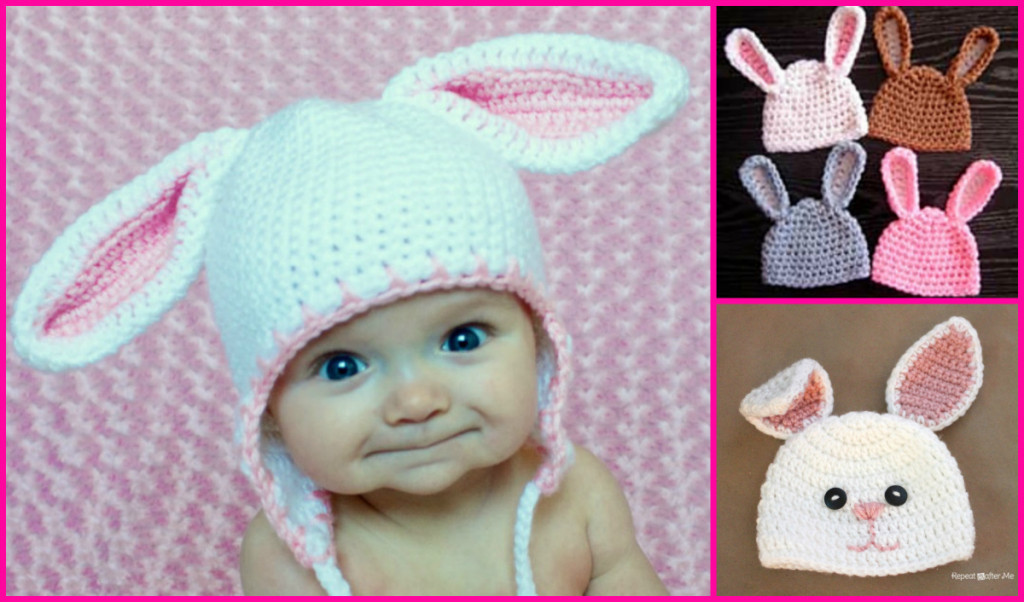 Luxury How to Crochet A Baby Beanie with Bunny Ears Crochet Bunny Hat Of Gorgeous 50 Photos Crochet Bunny Hat
