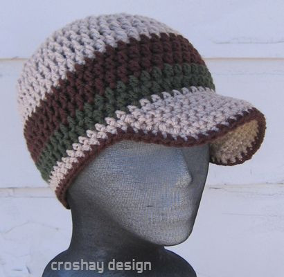 Luxury How to Crochet Beanie Hats Crochet Hat with Brim Pattern Of Contemporary 46 Photos Crochet Hat with Brim Pattern