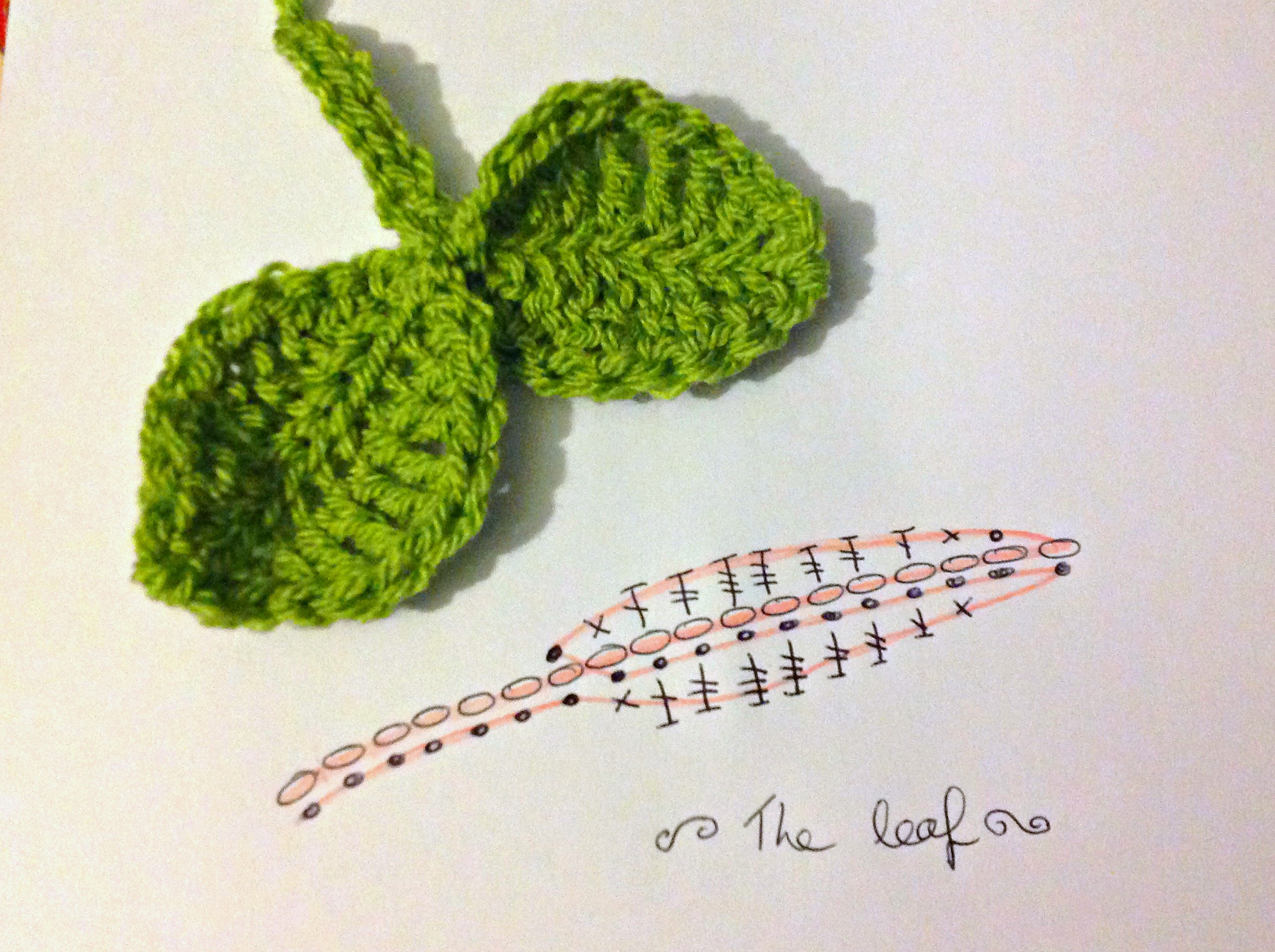 Luxury How to Crochet Leaves Free Crochet Leaf Pattern Of Contemporary 40 Pictures Free Crochet Leaf Pattern