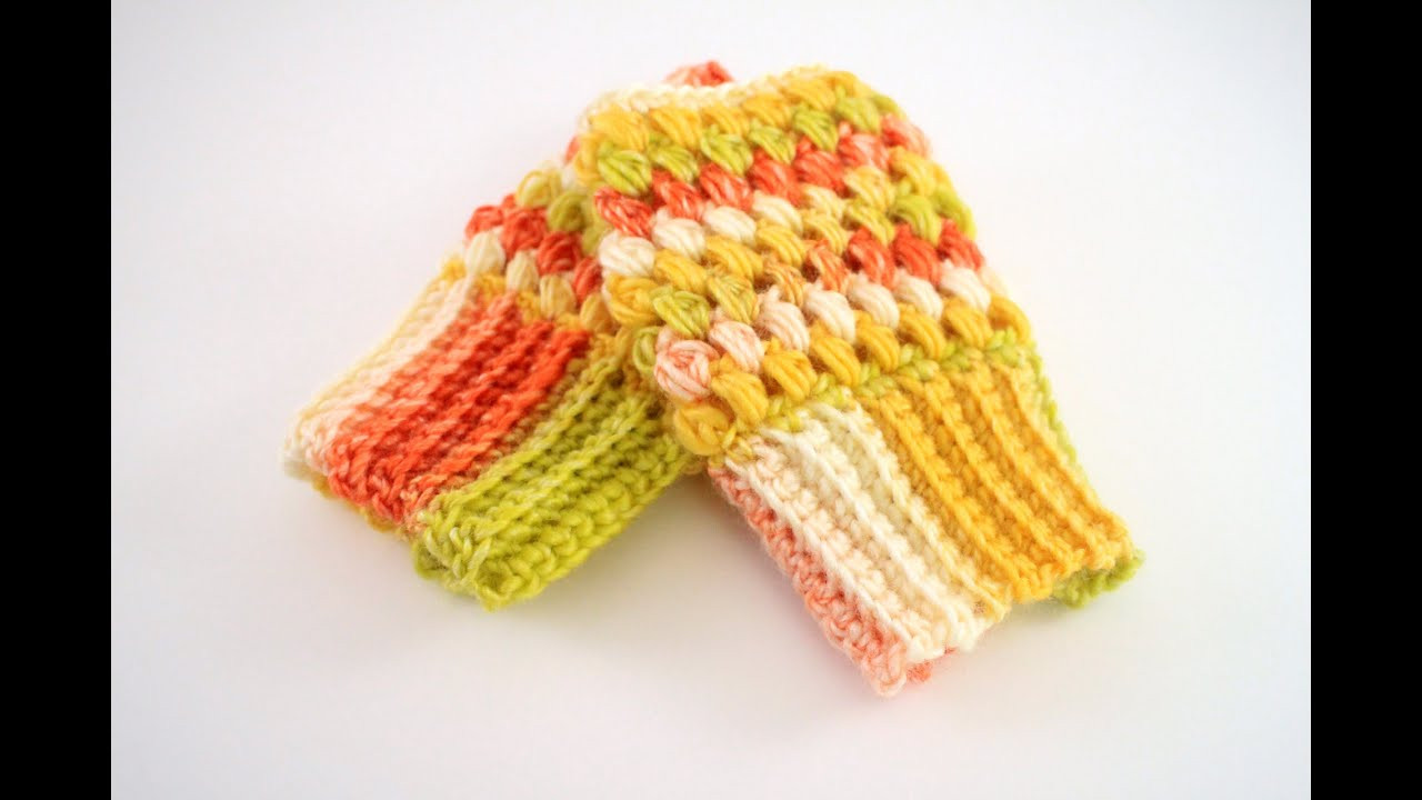 Luxury How to Crochet Puff Stitch Fingerless Gloves Puff Crochet Of Great 49 Ideas Puff Crochet