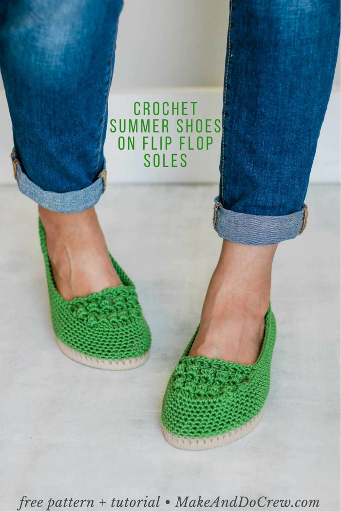 How to Crochet Shoes Free Slip s Pattern Tutorial