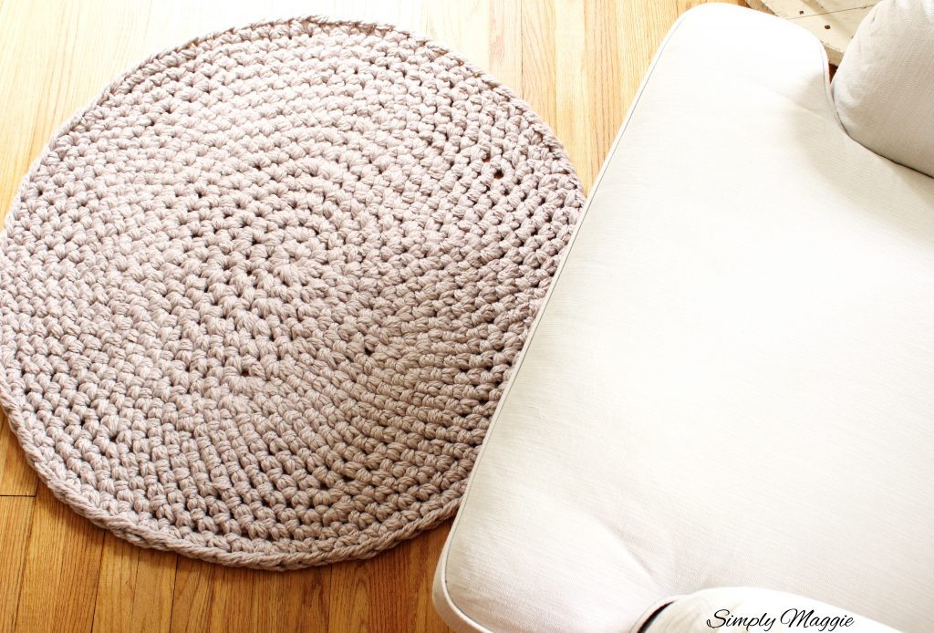 Luxury How to Hand Crochet A Circular Rug Crochet Rug Yarn Of Fresh 45 Images Crochet Rug Yarn